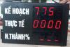 Bộ đếm giám sát phần trăm (%) sản lượng